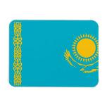 Kazakhstan Flag Rectangular Magnet