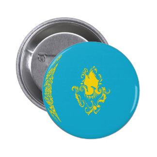 Kazakhstan Gnarly Flag Pins