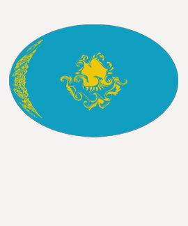 Kazakhstan Gnarly Flag T-Shirt
