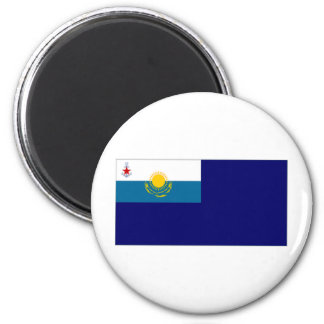 Kazakhstan Government Ensign 2 Inch Round Magnet
