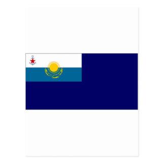 Kazakhstan Government Ensign Postcard