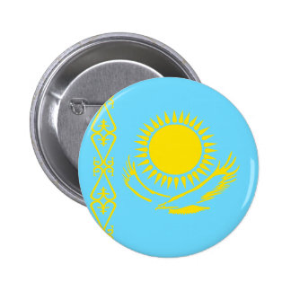Kazakhstan High quality Flag Pin
