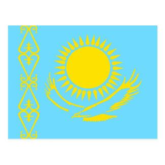 Kazakhstan High quality Flag Postcards