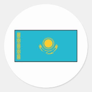 Kazakhstan – Kazakh Flag Classic Round Sticker