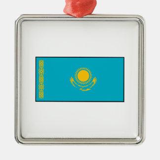 Kazakhstan – Kazakh Flag Metal Ornament