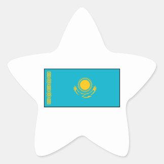 Kazakhstan – Kazakh Flag Star Sticker