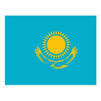 Kazakhstan, Kazakhstan flag Postcard