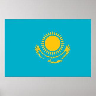 Kazakhstan, Kazakhstan flag Posters