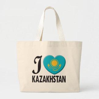 Kazakhstan Love Canvas Bag