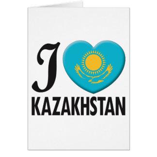 Kazakhstan Love Card