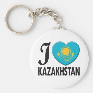 Kazakhstan Love Keychains
