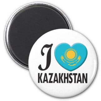 Kazakhstan Love Fridge Magnet