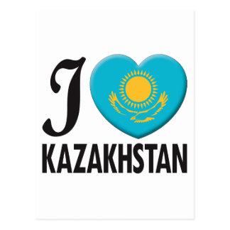 Kazakhstan Love Postcard