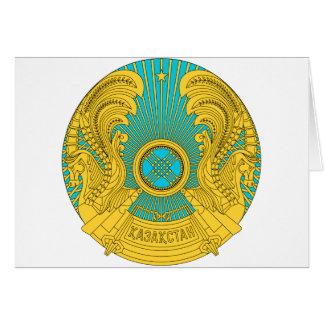 Kazakhstan National Emblem Greeting Card