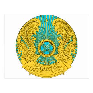Kazakhstan National Emblem Postcards