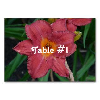 Kazakhstan National Flower Table Cards