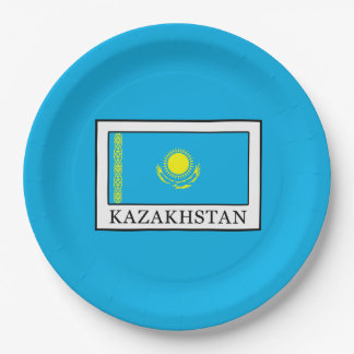 Kazakhstan Paper Plate