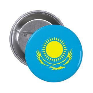 Kazakhstan Pinback Button