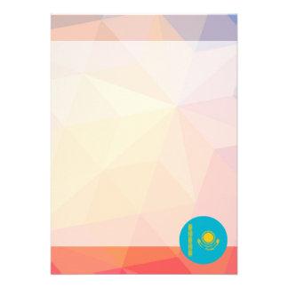 """Kazakhstan Souvenir 5"""" X 7"""" Invitation Card"""