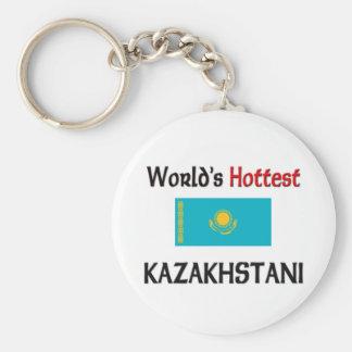 Kazakhstani más caliente del mundo llaveros