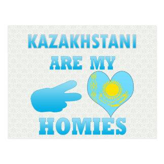 Kazakhstanis are my Homies Postcard