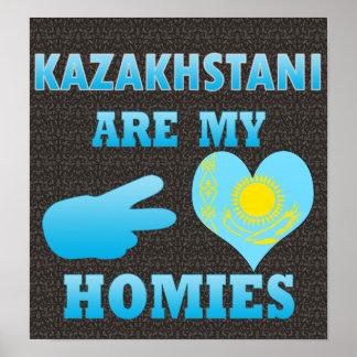 Kazakhstanis are my Homies Poster