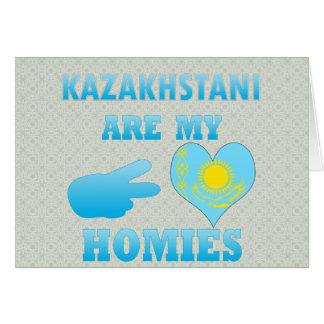 Kazakhstanis es mi Homies Tarjeta De Felicitación