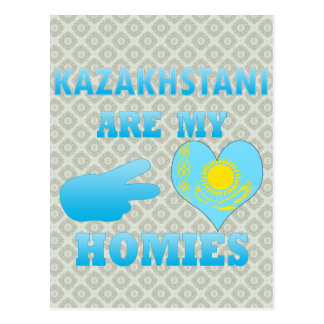 Kazakhstanis es mi Homies Tarjeta Postal