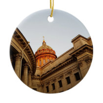 Kazan Cathedral Photo Ceramic Ornament