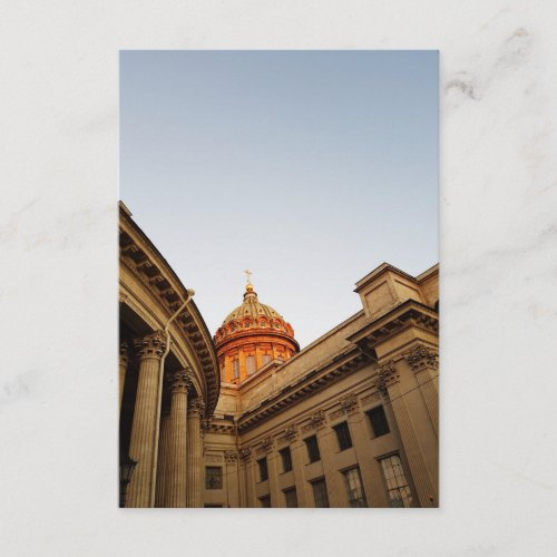 Kazan Cathedral Photo Enclosure Card