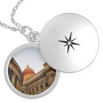 Kazan Cathedral Photo Locket Necklace