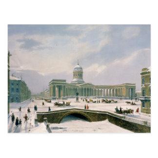Kazan Cathedral, St. Petersburg Postcard
