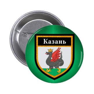 Kazan Flag Pinback Button