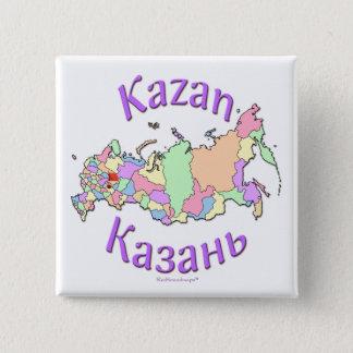 Kazan Russia Map Button