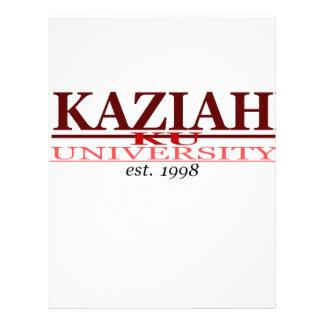 KAZIAH UNIV. MEMBRETE PERSONALIZADO