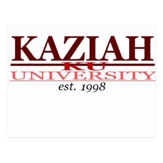 KAZIAH UNIV. POSTALES