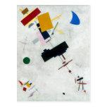 Kazimir Malevich Art Postcard