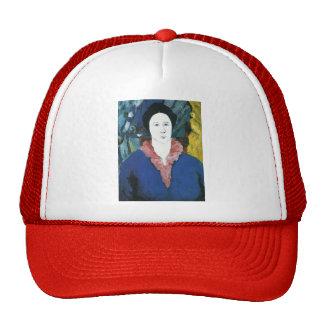 Kazimir Malevich- Blue Portrait Mesh Hats