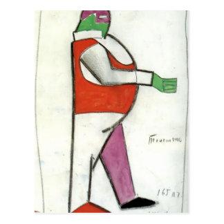 Kazimir Malevich- Fat Man Post Cards