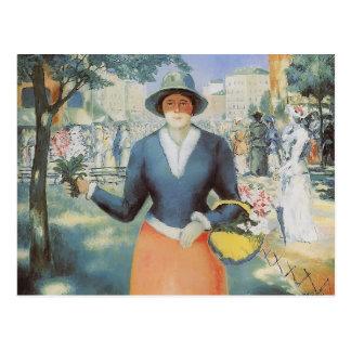 Kazimir Malevich- Flowergirl Tarjetas Postales