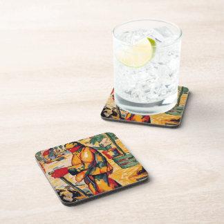 Kazimir Malevich- Gardener Drink Coaster