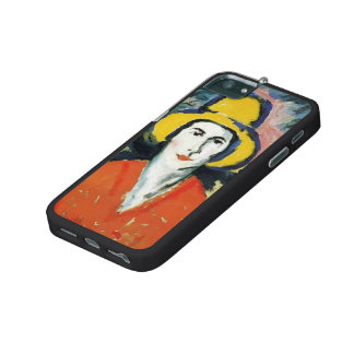 Kazimir Malevich- Portrait of Woman in Yellow Hat iPhone 5 Covers