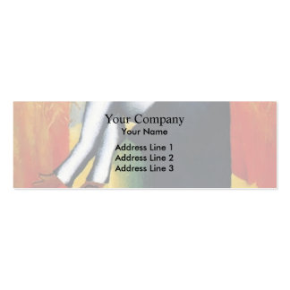 Kazimir Malevich- Reaper Double-Sided Mini Business Cards (Pack Of 20)