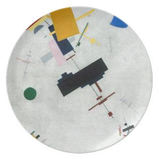 Kazimir Malevich - Suprematism Melamine Plate