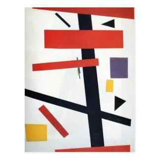 Kazimir Malevich- Suprematism Postcard