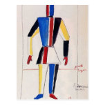 Kazimir Malevich- The Athlete of the Future Postcards