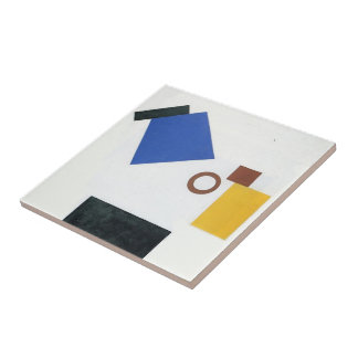 Kazimir Malevich- Two Dimensional Self Portrait Tiles