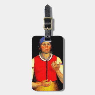 Kazimir Malevich- Worker Tags For Bags