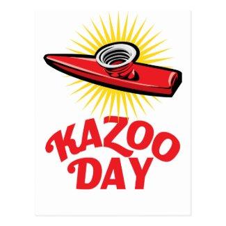 Kazoo Day - Appreciation Day Postcard
