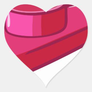 Kazoo Pegatina En Forma De Corazón